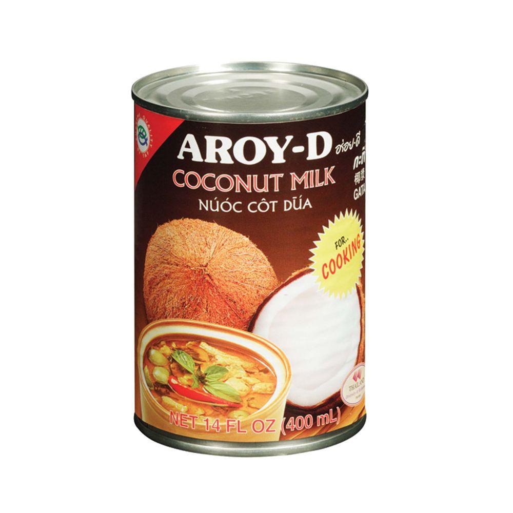 Ittrade - Aroy-D Coco Milk Cooking 24 x 400 ml - Asia Thailandia