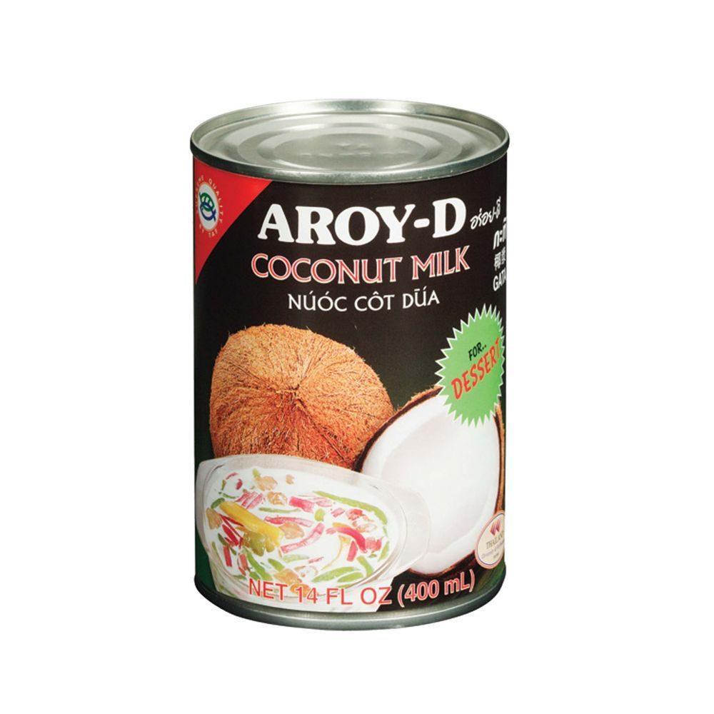 Ittrade - Aroy-D Coco Milk Dessert 24 x 400 ml - Asia Thailandia
