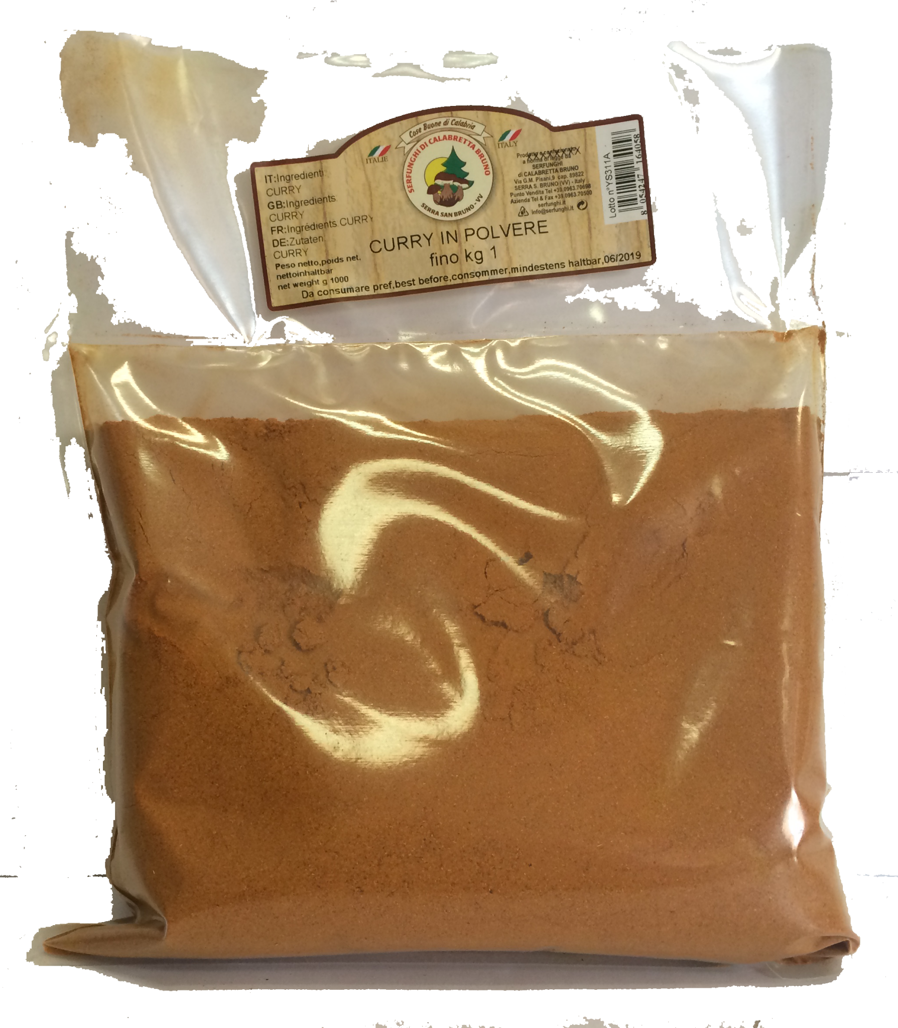 Ittrade - Curry 1 kg - Asia