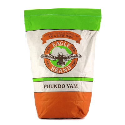 Ittrade - Eagle Brand Poundo Yam 5 kg - Africa