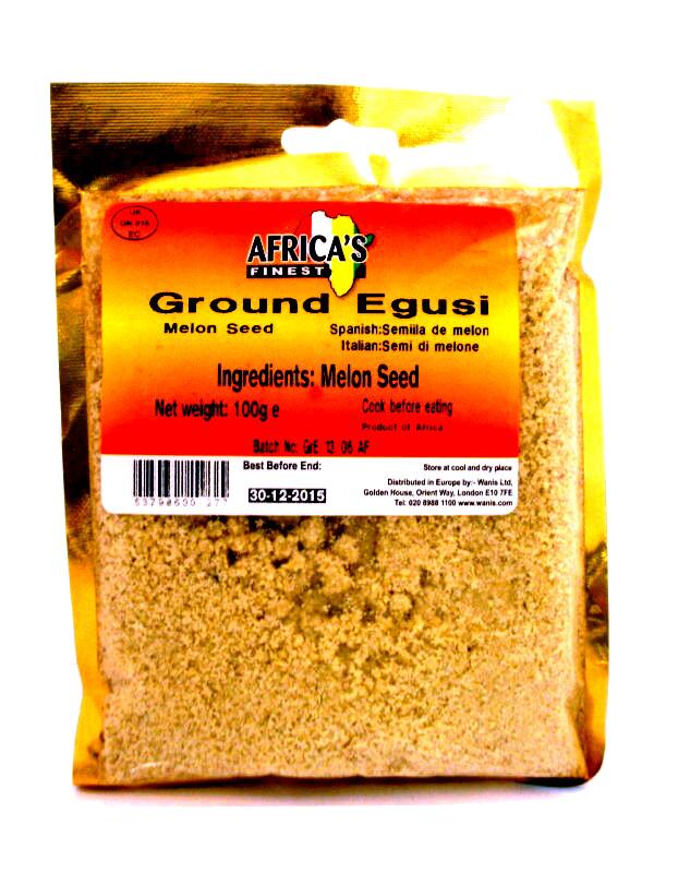 Ittrade - Egusi In Polvere 10 x 100 g - Africa