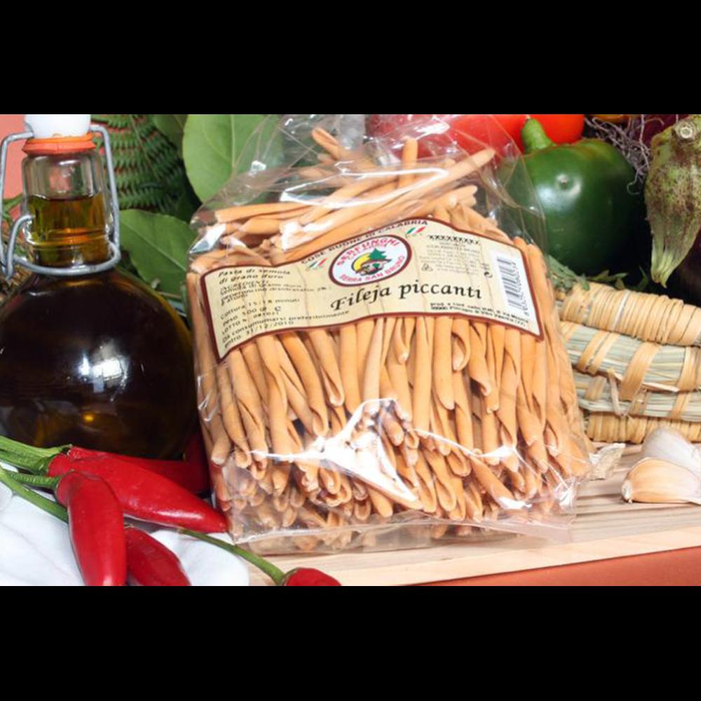 Ittrade - Pasta Fileja Piccante 12 x 500 g - Europa Italia