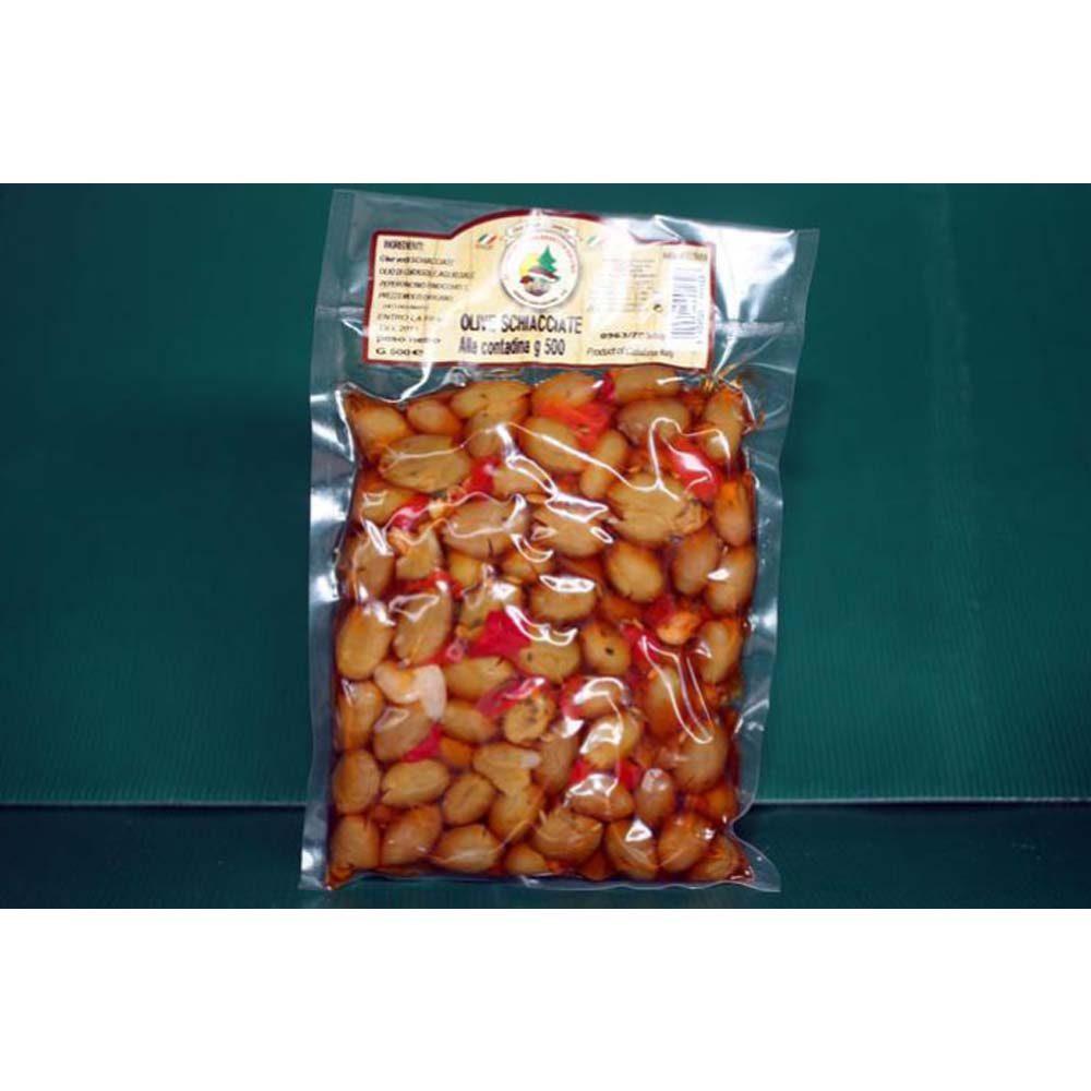 Ittrade - Olive Verdi Schiacciate 3 kg - Europa Italia