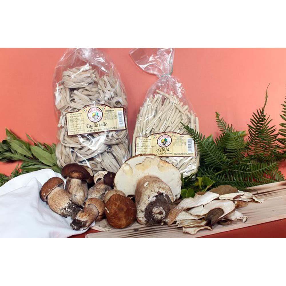 Ittrade - Pasta Fileja Ai Funghi Porcini 12 x 500 g - Europa Italia