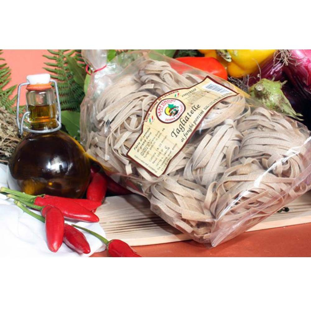 Ittrade - Tagliatelle Ai Funghi Porcini 12 x 500 g - Europa Italia